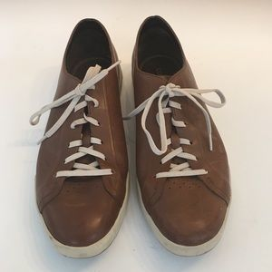 Cole Haan Brown Leather Tennis Shoes